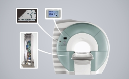MRI electrical and medical bed motion control